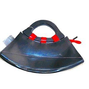 DANIELA MODA leather unique purse